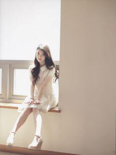 Image of Digital Wave Perm & Side Swept Bangs Ulzzang Fashion, Asian Fashion, Girl Fashion, Wave Perm, Asian Hair, K Idol, Korean Celebrities, Prom Hair, Weave Hairstyles