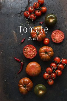 Tomate Drink Tomate as a refresing drink Spicy & hot INGREDIENTS: 4 celery sticks clean & cut in cubes 2 Tbsp Olive oil. 1 Chile 1,5 kg Ripe and firm tomatos 1 lime 1 Tbsp Tabasco 1 Tbsp Worcestershire Sauce 100 ml de Vodka. Salt & Pepper