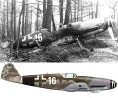 Bf 109K-4 of 9./JG 3