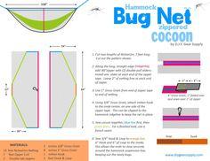 DIY Hammock Bug Net