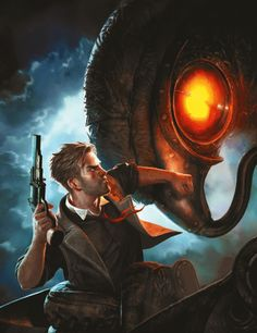 Don't really have time for video games anymore. Still, the original Bioshock was more fun and had a better story than any movie I've ever seen. One of my friends should buy Bioshock infinite so I can play...