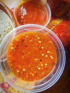 Charred Tomato Jalapeno Hot Sauce/Chile Sauce