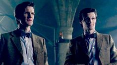 The Doctor and his double!