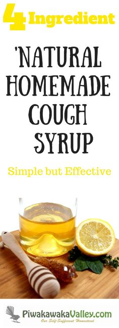 When coughs and colds come knocking, whip up some of this natural lemon cough syrup, it is simple but effective against coughs Cold And Cough Remedies, Home Remedy For Cough, Natural Cold Remedies, Cold Home Remedies, Herbal Remedies, Health Remedies, Flu Remedies, Herbal Cough Syrup, Homemade Cough Syrup