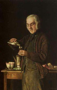 Charles Spencelayh - A Good Tonic