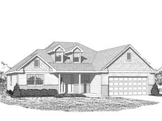 The Carmichael Elevation C  | Phillippe Builders