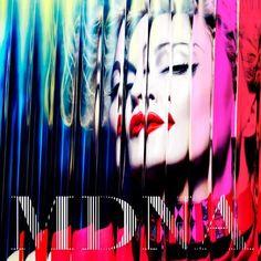 Madonna MDNA album art