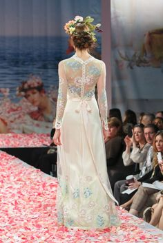 2013 wedding dress by Claire Pettibone An Earthly Paradise bridal collection Diana