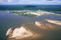 Ilha do Bananal no Rio Araguaia (TO)