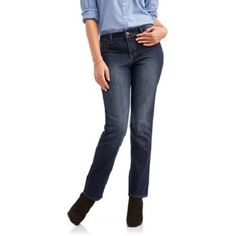 Ultimate Women s Must Have Straight Leg Jeans 30 inch Inseam 3ff773f061db
