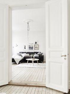 Milky apartment