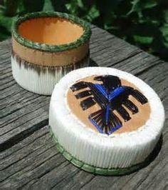 Porcupine Quill Basket (Porcupine Quill & Birch Bark Baskets)