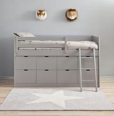 Asoral block bed acht laden