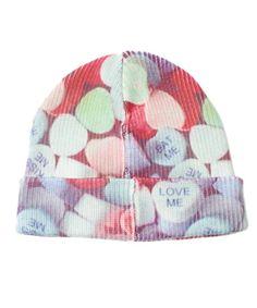 Heart soda watch the LDS (El Dee es) (knit cap beanie) | Pink    www.MormonLink.com  #LDS #Mormon #SpreadtheGospel