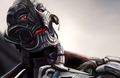 """Ultron (voiced by James Spader): """"Do you see? The beauty of it? The inevitability? You rise, only to fall. You, Avengers, you are my meteor, my swift and terrible sword, and the Earth will crack with the weight of your failure. Ultron (voiced by James Spader): """"Purge me from your computers, turn my own flesh against me. It means nothing. When the dust settles, the only thing living in this world will be metal."""" -- from Avengers: Age of Ultron (2015) directed by Joss Whedon"""