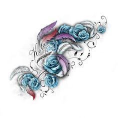 www.customtattoodesign.net wp-content uploads 2014 04 floral.jpg