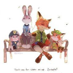 "Disney Nick y Judy "" Zootopia"" Disney Pixar, Disney Animation, Disney Memes, Disney Fan Art, Disney And Dreamworks, Walt Disney, Animation Movies, Zootopia Comic, Zootopia Anime"