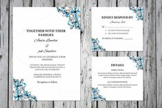 Wedding Invitation Template Suite @creativework247