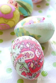 Easter Eggs: How Do You Make Yours? Fabric Tastic