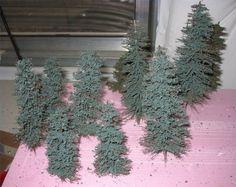 How to Make Miniature Bottle Brush Trees
