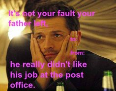 Dean- the industry thrives on daddy issues. Not exactly what he said but u get the point! Lol
