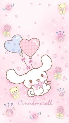 Sanrio Wallpaper, Cute Wallpaper For Phone, Hello Kitty Wallpaper, Kawaii Wallpaper, Cartoon Wallpaper, Arte Do Kawaii, Kawaii Art, Sanrio Characters, Cute Characters