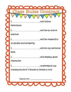 student contracts templates - 1000 images about social contracts on pinterest social