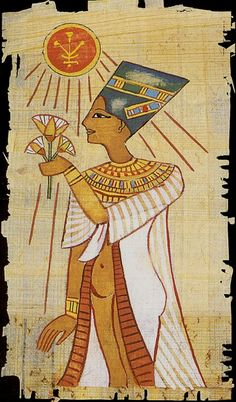 Queen of Pentacles - The Egyptian Tarots