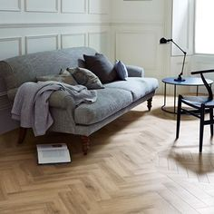 Cornish Oak: Beautifully designed LVT flooring from the Amtico Signature Collection - Luxury Vinyl Flooring & Tiles Herringbone Laminate Flooring, Amtico Flooring, Herringbone Wood Floor, Flooring Tiles, Floors, Flooring Store, Luxury Vinyl Flooring, Vinyl Plank Flooring, Luxury Vinyl Plank