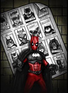 Bat-pool 5 Batmen of Future Past by HeroforPain.deviantart.com on @deviantART