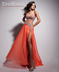 8077e681796d 10 Best tony bowl gala dress images in 2013   Evening Gowns, Formal ...