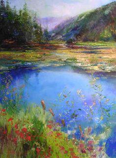 """"""" Dawn On Fernan Lake"""" by Stephen Shortridge"""
