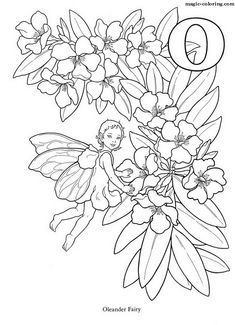 Old fashioned Flower Fairies coloring pictures for you to print ...