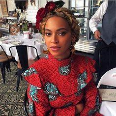 Beyoncé wearing Stella Jean