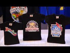 How to print onto a black t-shirt using Inkjet Dark Transfer Paper - YouTube