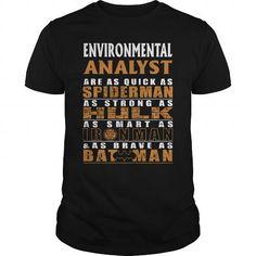 ENVIRONMENTAL ANALYST - BATMAN #teeshirt #Tshirt. CHEAP PRICE:  => https://www.sunfrog.com/LifeStyle/ENVIRONMENTAL-ANALYST--BATMAN-Black-Guys.html?id=60505