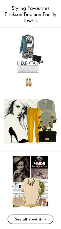 """Styling Favourites Erickson Beamon Family Jewels"" by olgutieuse ❤ liked on Polyvore"