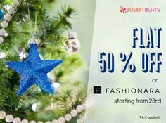 An offer that you can't refuse is here. FLAT 50% OFF on Fusion Beats only on Fashionara Shop here : http://bit.ly/1w8gt1e