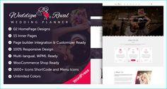 20 WordPress Wedding Themes Collection