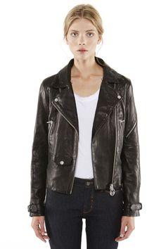 6fda8f137bed Women s Fringe Black Leather Jacket  ElevenParis Fall Winter  14