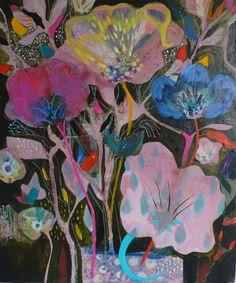 ❀ Blooming Brushwork ❀ - garden and still life flower paintings - Becky Blair   Kumbaya
