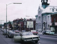 Renfrew ON where writer Robertson Davies grew up Ottawa Valley, Small Towns, Ontario, How To Memorize Things, Writer, Street View, Canada, Trucks, Cars