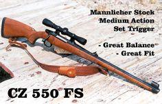CZ 550 FS Mannlicher Hunter. In 6.5x55 mm