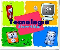 """""""Tecnología divertida"""" es un juego en el que uno se autoevalúa, a través de un cuestionario tipo test, sobre el conocimiento que se tiene sobre las tecnologías de la información y la comunicación: ordenador, móvil, internet, aplicaciones, etc. Spanish Courses, Education, Logos, Infinity, Group, Memes, Educational Games, Science Projects For Kids, Digital Literacy"""
