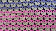 [VIDEO] Learn A New Crochet Stitch: The Cupcake Stitch + Free Afghan Pattern