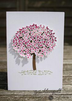 Blatt und Blüte, stampin up, Thoughtful Branches, Wald der Worte, Blatt und Blüte