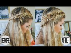Pulled Apart Dutch Fishtail Tutorial - Barefoot Blonde by Amber Fillerup Clark