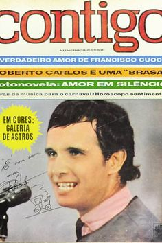 """Roberto Carlos em capa da """"Contigo!"""" de 1966"""