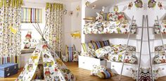 beautiful inspirations for children's room - miniroom.pl