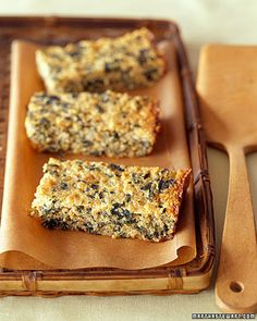 Quinoa-Spinach Bake - In place of fresh spinach, you can also use 3/4 cup frozen, chopped spinach that has been thawed.